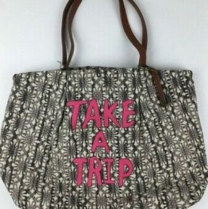 Lucky Brand 'Take A Trip' Tote Bag